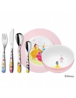WMF - Zestaw dla dzieci 6 el., Księżniczki Disney