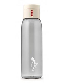 AL - Butelka na wodę DOT AL mini kremowa