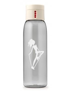 AL - Butelka na wodę DOT AL kremowa