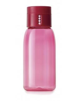 JJ - Butelka na wodę 400ml, różowa, Dot