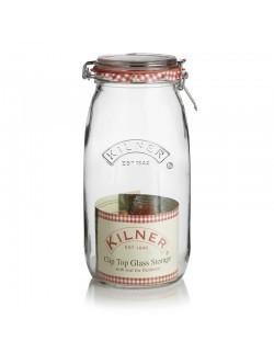 KIL - Słoik 3l, Round Clip Top Jar