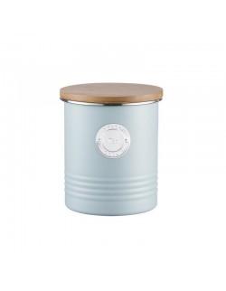 TYP - Pojemnik na herbatę, błękitny, Living