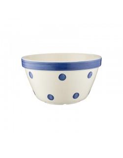 MC - Miseczka do puddingu 0,9l, niebieskie kropki