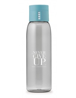 Butelka na wodę DOT NGU, turkusowa - HPBA