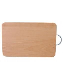 Deska do krojenia z metalowym uchwytem 32,5 x 21,5 x 1,5 cm EKO-DREW