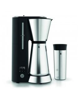 WMF EL - Ekspres do kawy+kubek termiczny,srebrny