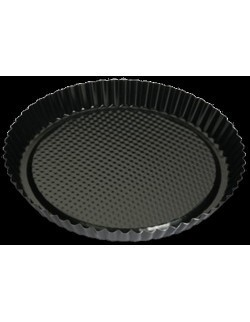 Czarna forma do tarty non-stick 27,5 cm - SNB