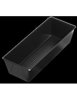 Czarna blacha non-stick 39 x 11 x 7,5 cm - SNB