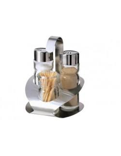 Komplet przyprawników 4 el.: sól i pieprz