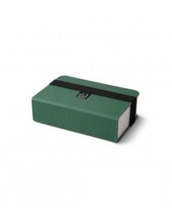 AL - Lunch box książka, oliwkowy