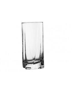 Komplet 3 szklanek wysokich PASABAHCE LUNA 387 ml