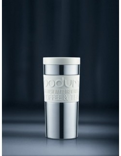 Kubek termiczny 350 ml biały Travel Mug - BODUM