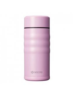 Kubek termiczny 350 ml Twist Top różowy - KYOCERA