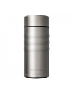 Kubek termiczny 350 ml Twist Top stalowy - KYOCERA