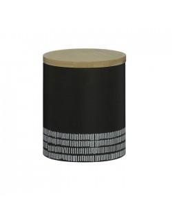 TYP - Pojemnik kuchenny M, czarny, Monochrome