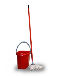 Zestaw mop z kijem 110 cm + wiadro 10L