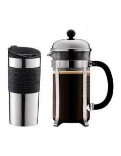 BODUM - Kubek termiczny 0,35 l, stalowy,Travel Mug