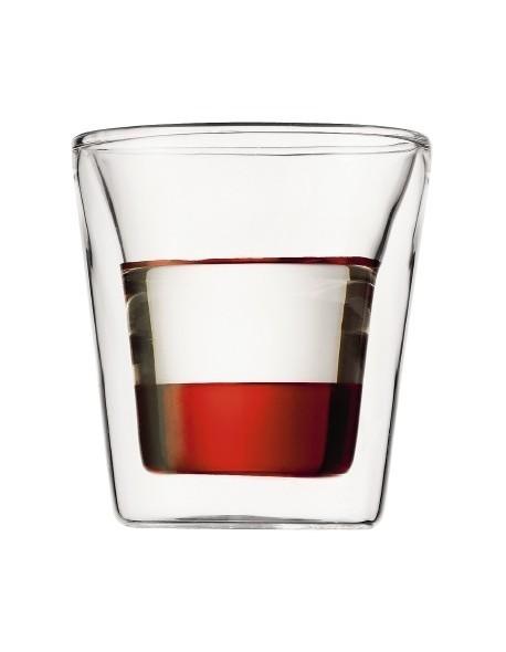 BODUM - Zestaw 2 szklanek 0,1 l., Canteen
