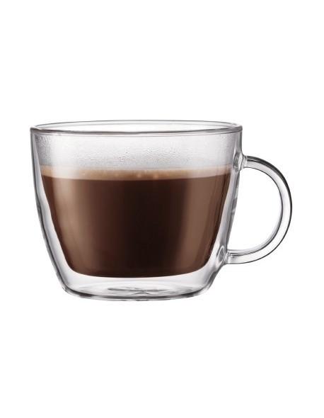 BODUM - Zestaw 2 kubków do latte 0,45 l, Bistro
