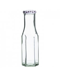 KIL -Butelka heksagonalna 250 ml.Twist Top Bottles