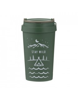 Kubek podróżny 380 ml Stay Wild, Pure - TYPHOON