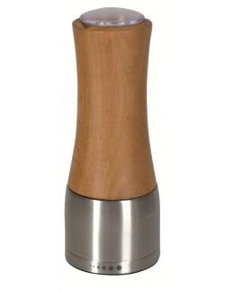 Młynek do pieprzu/soli drewniany 17 cm FALCONI