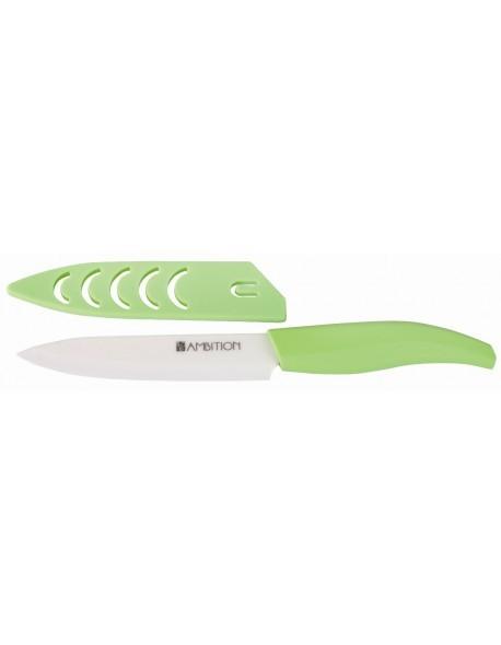 Nóż ceramiczny uniwersalny 13cm Pistacja