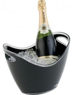 Pojemnik na wino / szampana MS czarny