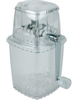 Ręczna kruszarka do lodu, plastikowa