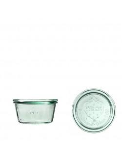 Słoik MOLD 290 ml z pokrywą - op. 6 szt - WECK