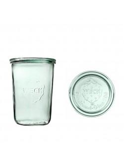 Słoik MOLD 850 ml z pokrywą - op. 6 szt - WECK
