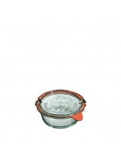 Słoik MOLD 300 ml z pokrywą, uszczelką i 2 zapinkami - op. 6 szt - WECK