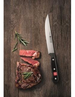 Nóż do warzyw 8 cm czarny - Gourmet
