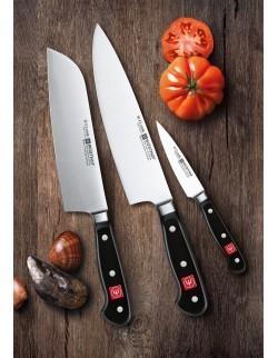 Zestaw- Nóż szefa 20 cm , do chleba 20 cm i do war
