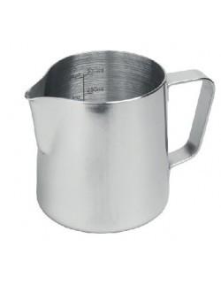 Dzbanek STALOWY do mleka 1000 ml z miarką