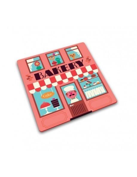 JJ - Podkładka kwadratowa SHOP BAKERY, 30 x 30