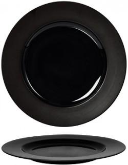 Talerz płaski 310 mm - Ambition Satin Black