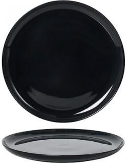 Talerz płaski 300 mm - Ambition Satin Black