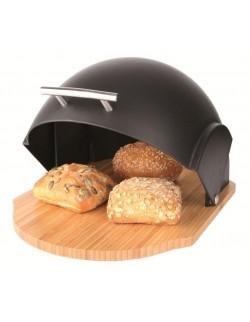 Chlebak drewniany z plastikową pokrywą Ambition VADER