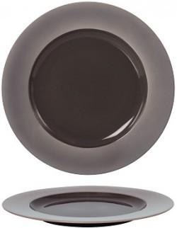 Talerz płaski z rantem 310 mm - Ambition Satin Purple