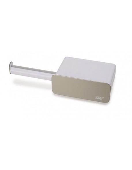JJ - Uchwyt/organizer toaletowy, biały/salowy Easy