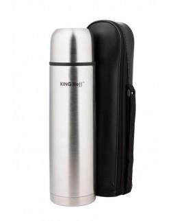 TERMOS STALOWY 1000 ml CLICK-CLACK KINGHOFF KH-4054