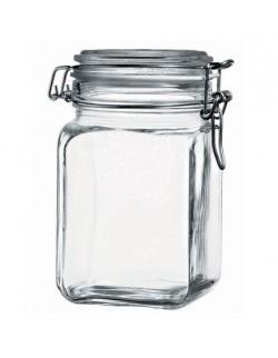 Kwadratowy słoik wek 1000 ml PASABAHCE KREMLIN