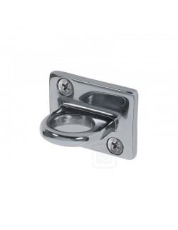 Uchwyt ze stali chromowanej srebrny