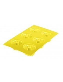 """Silikonowa forma do pieczenia na 6 babeczek """"Classic"""", kol. żółty Westmark"""