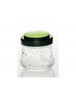 Słoik dekoracyjnyz pokrywką zieloną Garden 250 ml PASABAHCE