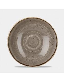 Miska evolve 248 mm CHURCHILL, Stonecast Peppercorn Grey