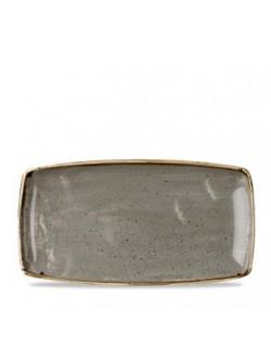 Miska trójkątna 153 mm CHURCHILL, Stonecast Peppercorn Grey