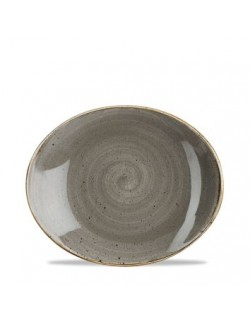 Talerz kwadratowy 268 mm CHURCHILL, Stonecast Peppercorn Grey