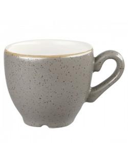 Filiżanka espresso 100 ml CHURCHILL, Stonecast Peppercorn Grey